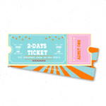 2-days ticket for vendors and distributors