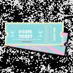 2-days student ticket